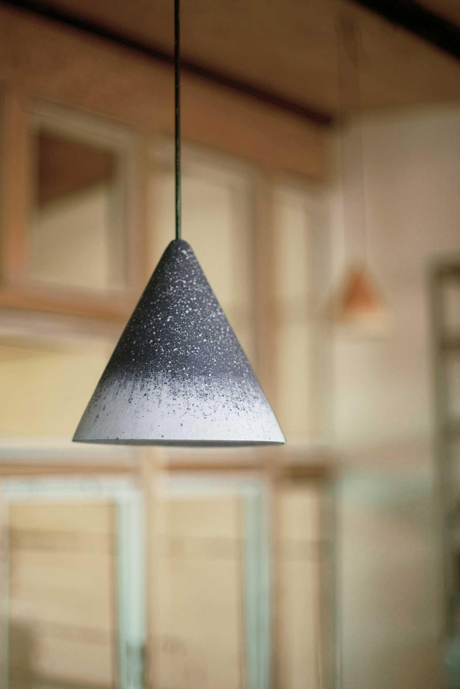 Gesso Lamp by Jonas Edvard