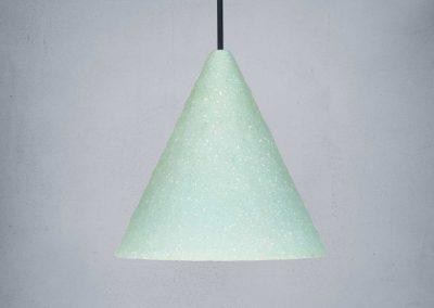 Mint Gesso Lamp - Jonas Edvard