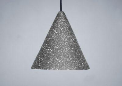 Anthracite Gesso Lamp - Jonas Edvard