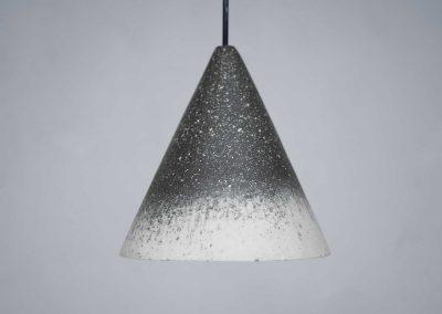 Anthracite fade Gesso Lamp - Jonas Edvard