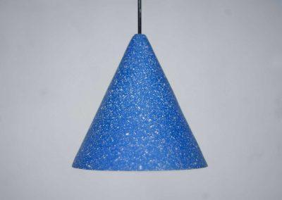 Berlin Blue Gesso Lamp - Jonas Edvard