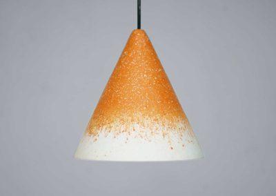 Ochre fade Gesso Lamp - Jonas Edvard